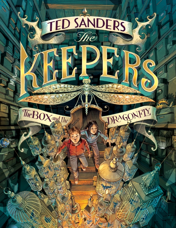 Keepers reveal cover